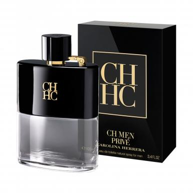 foto CAROLINA HERRERA CH PRIVE EDT MASC 100ML