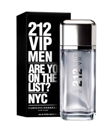 foto CAROLINA HERRERA 212 VIP MEN EDT MASC 200ML