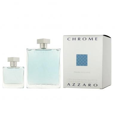 foto AZZARO CHROME EDT MASC 200ML + 30ML
