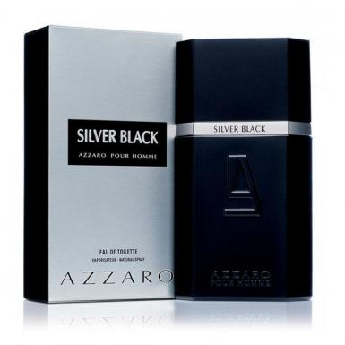 foto AZZARO SILVER BLACK EDT MASC 100ML