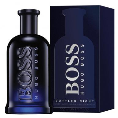 foto HUGO BOSS BOTTLED NIGHT EDT MASC 200ML