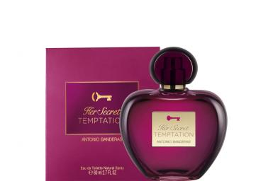 foto ANTONIO BANDERAS HER SECRET TEMPTATION EDT FEM 80