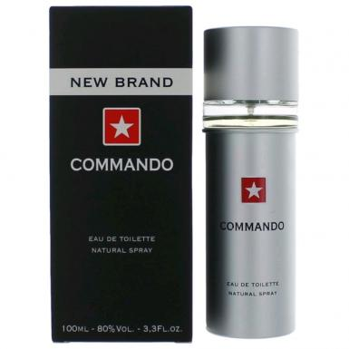 foto NEW BRAND COMMANDO EDT MASC 100ML