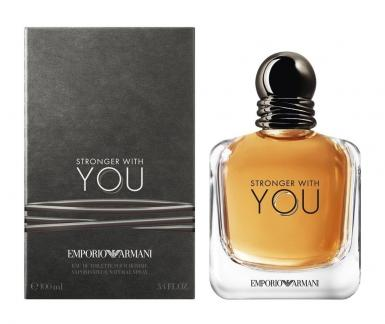 foto ARMANI EMPORIO STRONGER WITH YOU EDT MASC 100ML