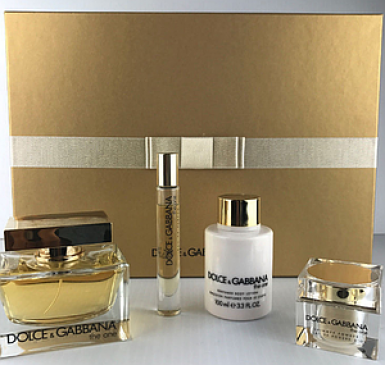 foto DOLCE G.THE ONE EDP FEM 75ML+6ML+100ML BODY LOCION