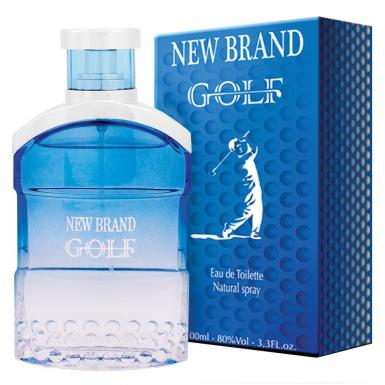 foto NEW BRAND GOLF BLUE EDT MASC 100ML