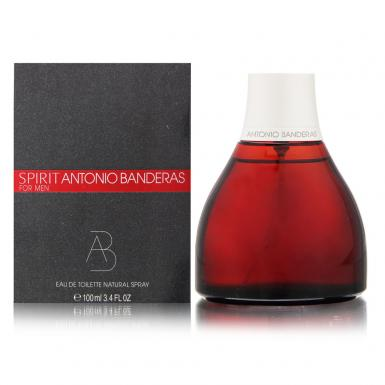 foto ANTONIO BANDERAS SPIRIT EDT MASC 100ML