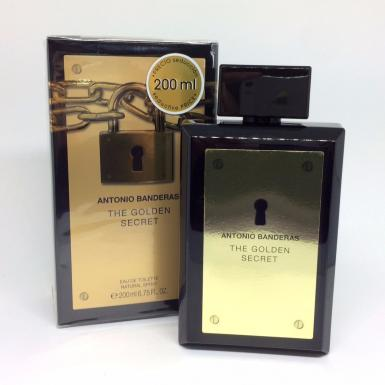 foto ANTONIO BANDERAS THE GOLDEN SECRET EDT MASC 200ML