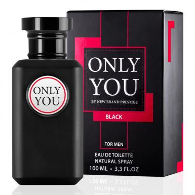foto NEW BRAND ONLY YOU BLACK EDT MASC 100ML