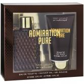 ADMIRATION PURE MASC 100ML + SHOWER GEL 150ML