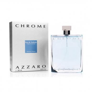 foto AZZARO CHROME EDT MASC 200ML
