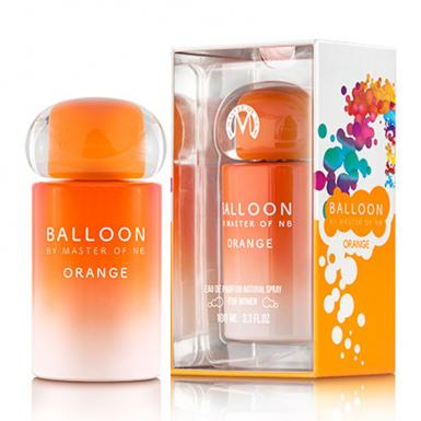 foto NEW BRAND MASTER BALLON ORANGE EDP FEM 100ML