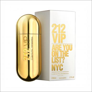 foto CAROLINA HERRERA 212 VIP EDP FEM 80ML
