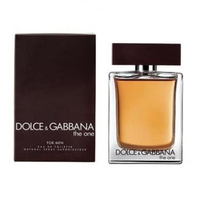 foto DOLCE GABBANA THE ONE EDT MASC 50ML