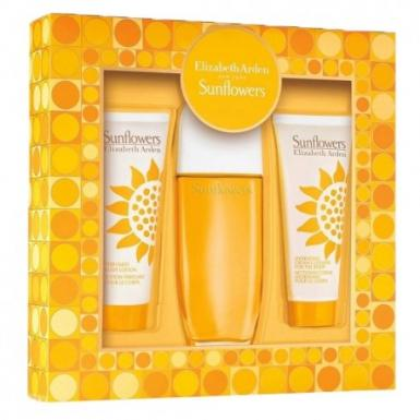 foto ELIZABETH ARDEN SUNFLOWERS EDT FEM 100ML KIT
