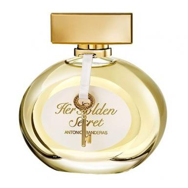 foto ANTONIO BANDERAS HER GOLDEN SECRET EDT FEM 50ML