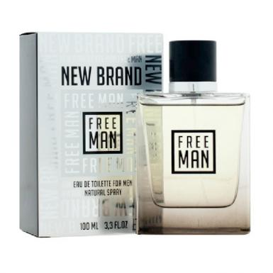foto NEW BRAND FREE MAN EDT MASC 100ML