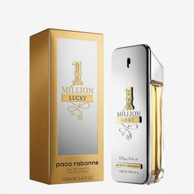 foto PACO RABBANE MILLON LUCKY EDT MASC 100ML