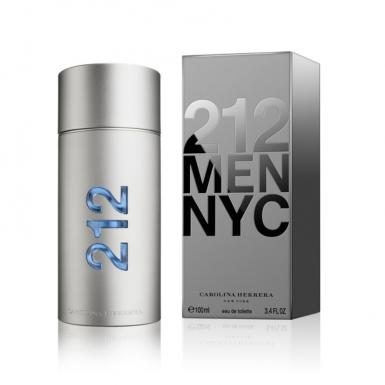 foto CAROLINA HERRERA 212 EDT MASC 100ML