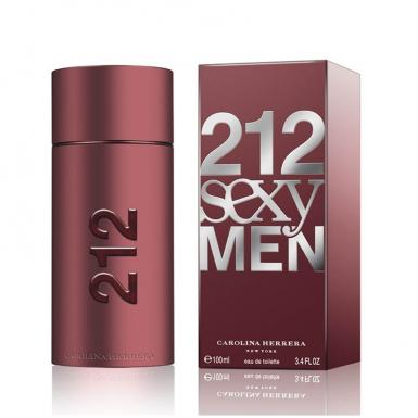 foto CAROLINA HERRERA 212 SEXY EDT MASC 100ML