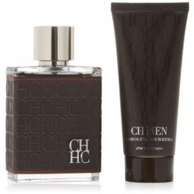 foto CAROLINA HERRERA CH MEN EDT100ML+AFTER SHAVE 100ML