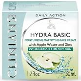 CLINIANS CREMA FACIAL EN GEL HYDRA BASIC 50ML