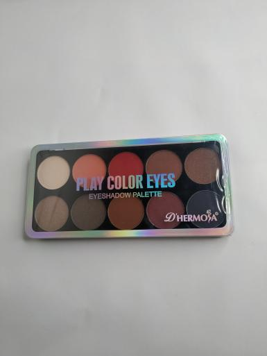foto D HERMOSA PLAY COLOR EYES EYESHADOW PALETTE HL002