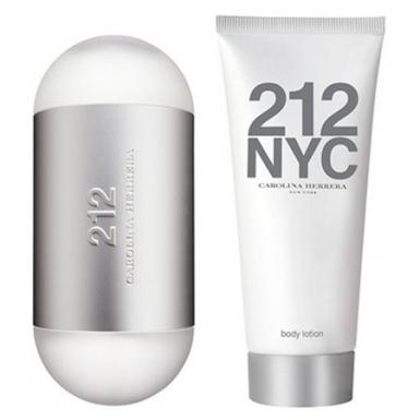 foto CAROLINA HERRERA 212 FEM 100ML KIT