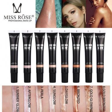 foto MISS ROSE ILUMINADOR LIQUID.7601-044N N8GOLD BRONZ