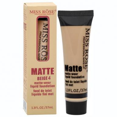 foto MISS ROSE BASE MATTE BEIGE 4 7601-039N 37ML