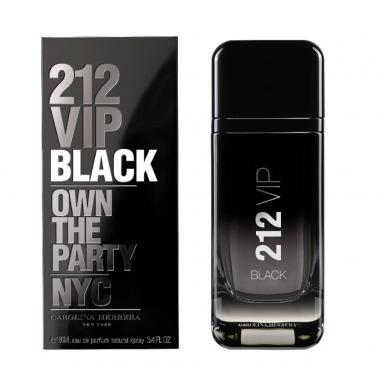 foto CAROLINA HERRERA 212 VIP BLACK EDP MASC 100ML