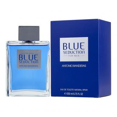 foto ANTONIO BANDERAS BLUE SEDUCTION EDT FEM 200ML