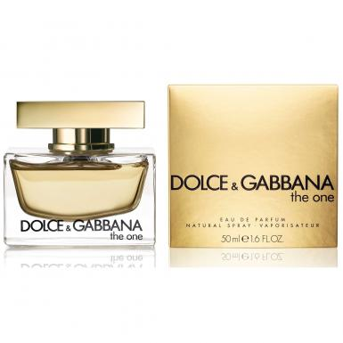 foto DOLCE GABBANA THE ONE EDP FEM 50ML