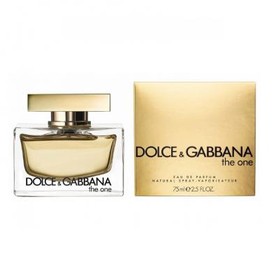 foto DOLCE GABBANA THE ONE EDP FEM 75ML