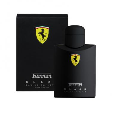foto FERRARI BLACK EDT MASC 125ML