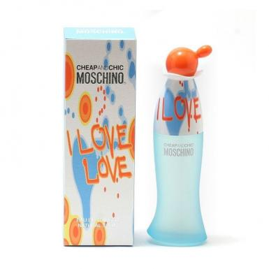 foto MOSCHINO I LOVE LOVE EDT FEM 100ML