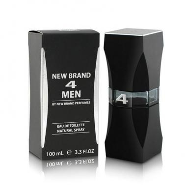 foto NEW BRAND 4 MEN EDT MASC 100ML