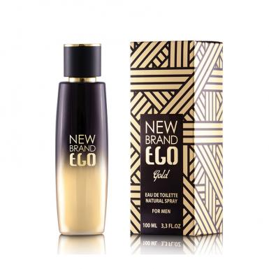 foto NEW BRAND EGO GOLD EDT MASC 100ML