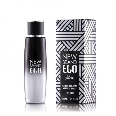 foto NEW BRAND EGO SILVER EDT MASC 100ML