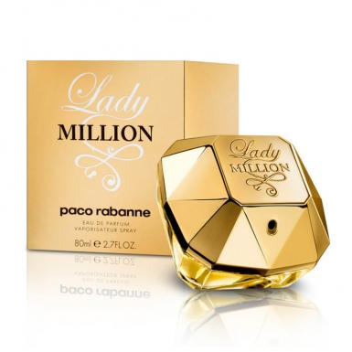 foto PACO RABANNE LADY MILLION EDP FEM 80ML