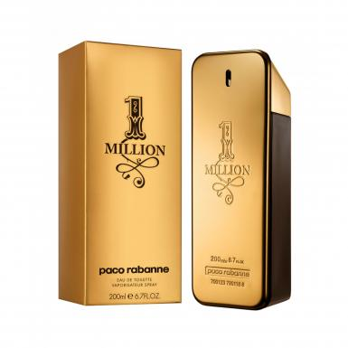 foto PACO RABANNE 1 MILLION EDT MASC 200ML