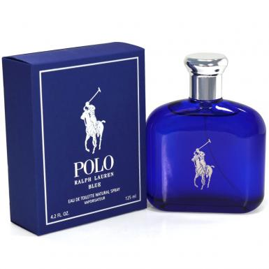 foto RALPH LAUREN POLO BLUE EDT MASC 125ML