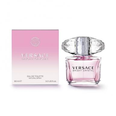 foto VERSACE BRIGHT CRYSTAL EDT FEM 90ML