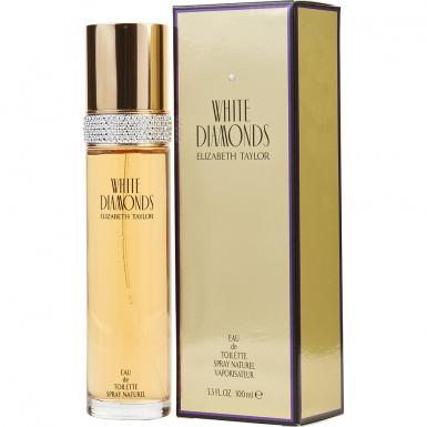 foto ELIZABETH TAYLOR WHITE DIAMONDS EDT FEM 100ML