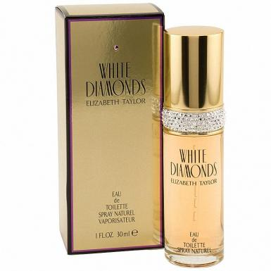 foto ELIZABETH TAYLOR WHITE DIAMONDS EDT FEM 30ML