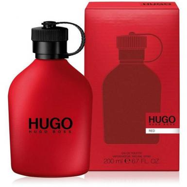 foto HUGO BOSS RED EDT MASC 200ML