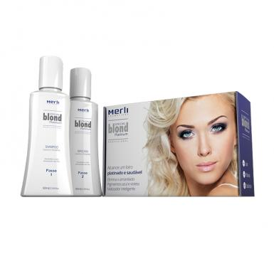 foto MERLI BLOND SHAMPOO 80ML + MASCARA 80ML