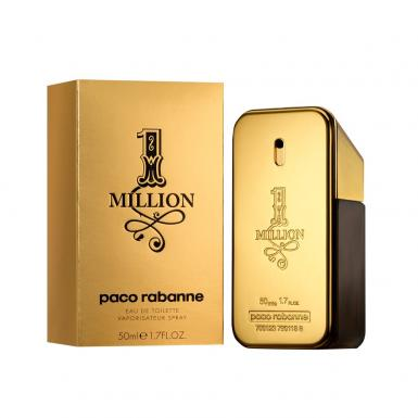 foto PACO RABANNE 1 MILLION EDT MASC 50ML