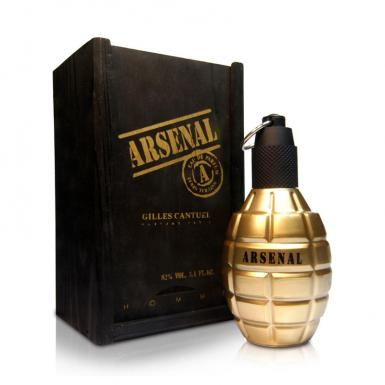 foto ARSENAL GOLD MEN EDP MASC 100ML