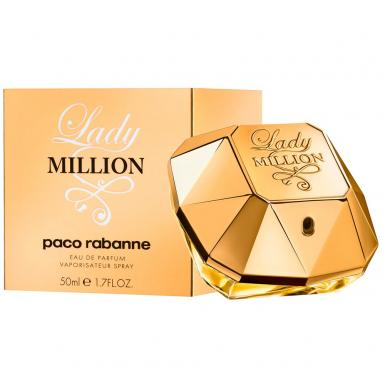 foto PACO RABANNE LADY MILLION EDP FEM 50ML